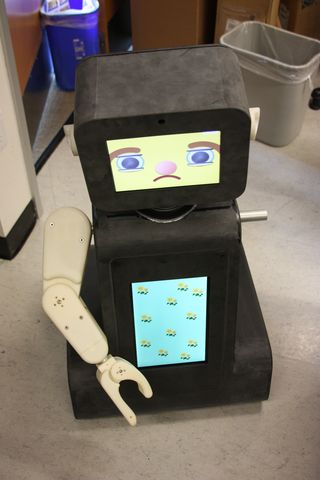 Rubi the Robot sad